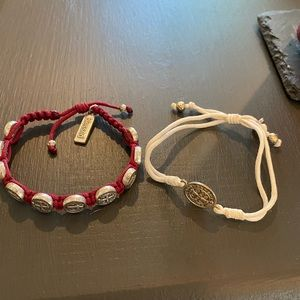 My saint my hero bracelet set